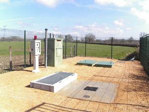 estação de tratamento para água / para pequenas comunidades