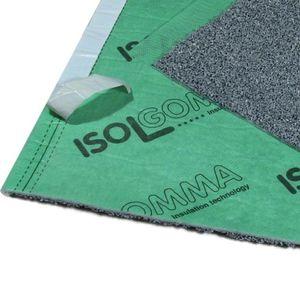 isolante termoacústico / em poliéster / em EPDM / para piso