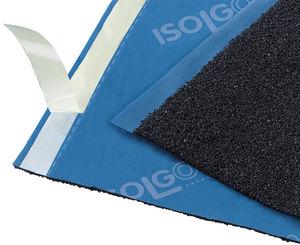 isolante acústico / em borracha / SBR / para piso