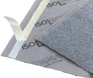 isolante acústico / em EPDM / para piso / em rolo