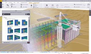 software BIM (Modelo de Informação da Construção)