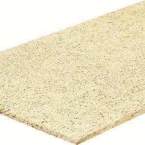 isolante termoacústico / em lã de madeira / para piso / em painéis