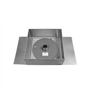 módulo de gestão de águas pluviais para telhado verde