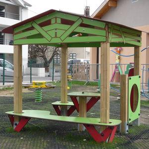 casa de brincar para ambiente externo / de jardim / de piso