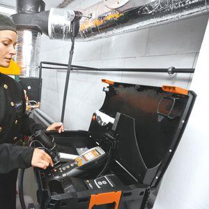 analisador de combustão de emissão / de gás de combustão
