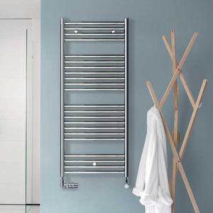 toalheiro elétrico / a água quente / em aço inoxidável / contemporâneo