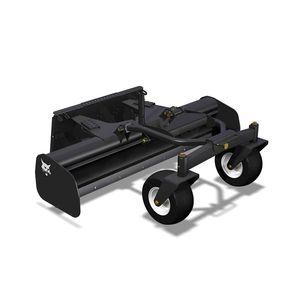 plaina niveladora para carregadeira / com guiamento por laser
