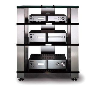 rack para aparelho de som contemporâneo