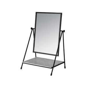 espelho de pousar / com prateleiras / giratório / contemporâneo