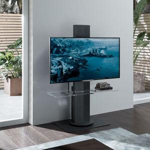 suporte de piso para TV contemporâneo