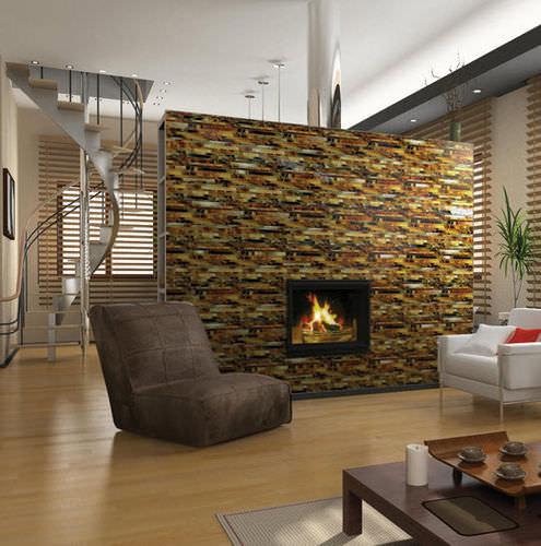 Mosaico Para Ambiente Interno Serenade Daltile Para Sala De Piso Em Vidro