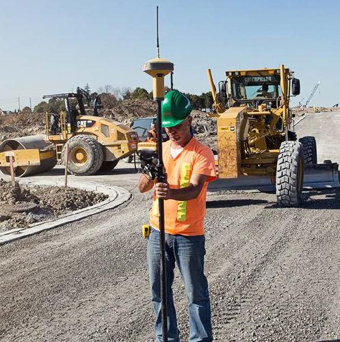 receptor GNSS / GPS / RTK / para obras de contrução