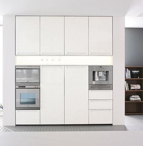 forno elétrico / duplo / de embutir