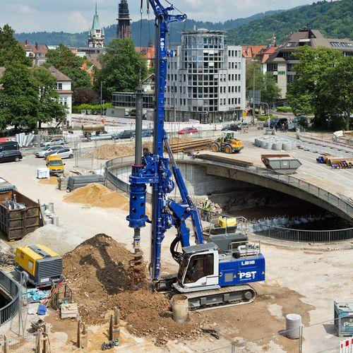 perfuratriz a diesel / rotativa / para construção civil
