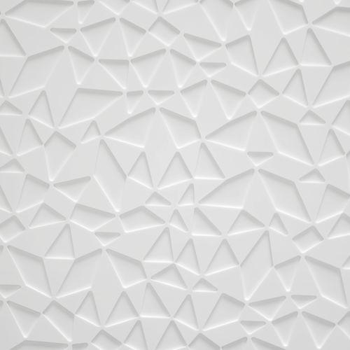 revestimento de parede em Corian® / da linha comercial / texturado / efeito 3D