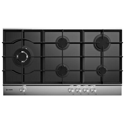 cooktop a gás / com grill / em ferro fundido