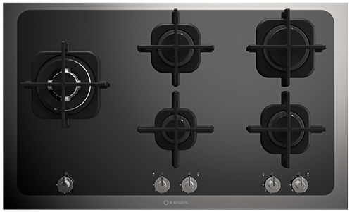 cooktop a gás / em ferro fundido / em inox