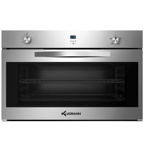 forno a gás / com 1 câmara / com grill / de embutir