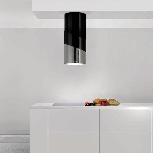 coifa de cozinha de ilha / com iluminação embutida / design original