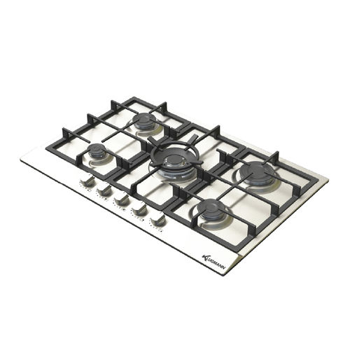 cooktop a gás / wok / em ferro fundido / com grill