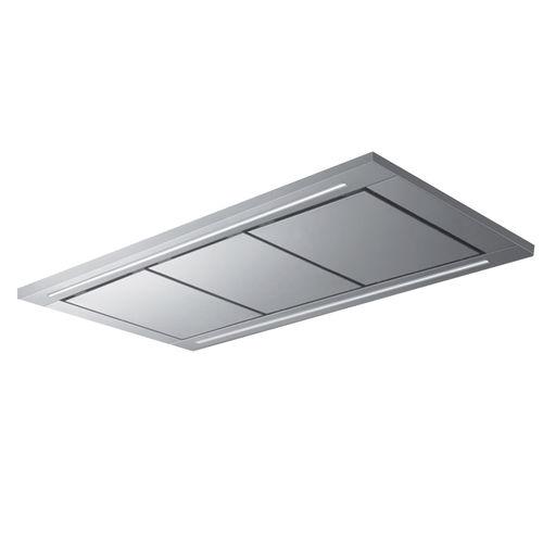 coifa de cozinha de ilha / de teto / com iluminação embutida