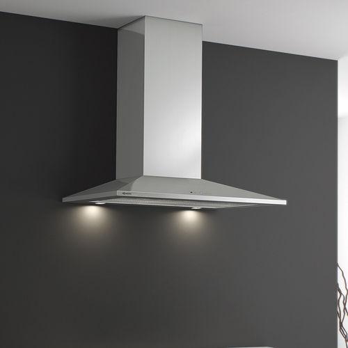 coifa de cozinha de ilha / com iluminação embutida