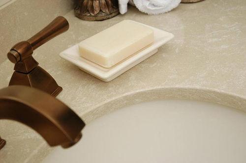 tampo de bancada em mármore / para cozinha
