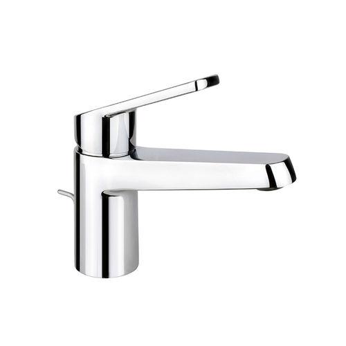 misturador monocomando para lavatório / em metal cromado / 1 orifício