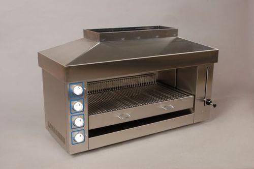 grelhador elétrico / embutido / profissional / forno salamandra