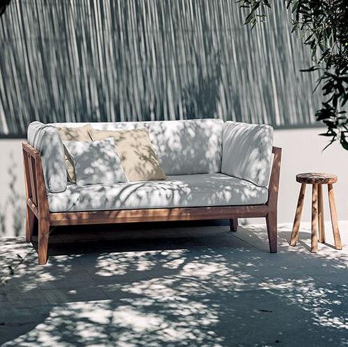 sofá de jardim / contemporâneo / para pátio / para iate