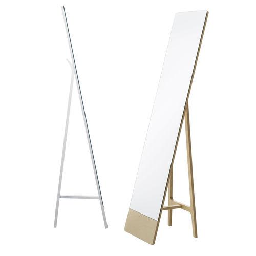 espelho de piso / de parede / contemporâneo / retangular