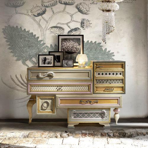 cômoda design original / em madeira / sob medida / modular