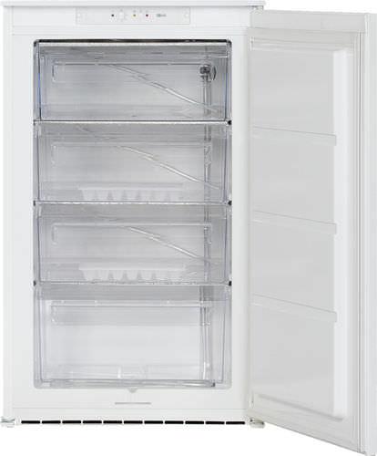 freezer compacto / branco / embutido / de baixo consumo de energia