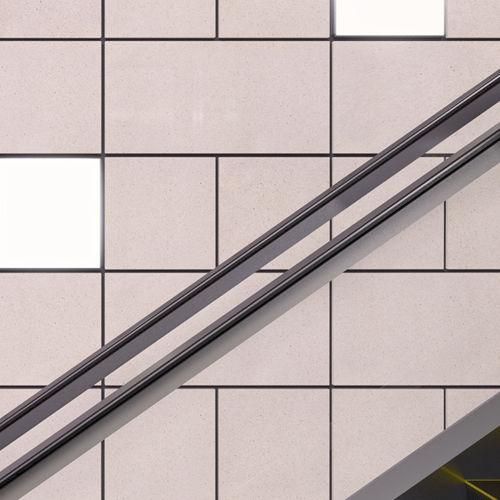 ladrilho para ambiente externo / de parede / em mármore / de cor lisa