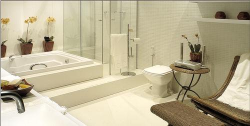 ladrilho para banheiro / de piso / em mármore / de cor lisa