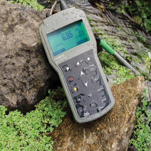 analisador de água multiparâmetros