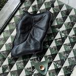 ladrilho para ambiente interno / de piso / em porcelanato arenito / quadrado