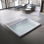 banheira em concreto / profissional
