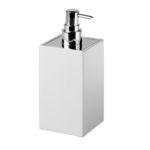 dispensador de sabonete para hotel / de pousar / em cerâmica / manual