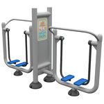 simulador de caminhada para ambiente externo duplo
