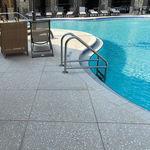 borda de piscina em concreto