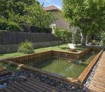piscina em painéis