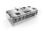 cozinha profissional em inox / compacta / modular / sob medida