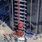 plataforma elevadora para obras de construção