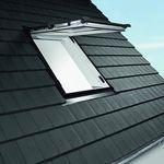 janela de telhado projetante / em PVC / com vidro duplo / com vidro triplo