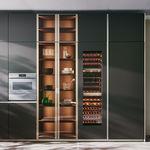 armário coluna para cozinha / contemporâneo