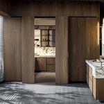 sistema deslizante para porta de madeira