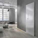 porta interna / de abrir / em madeira
