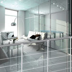 guarda-corpo em inox / em forma balaustrada / para ambiente interno / para escada