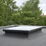 janela de telhado fixa / em PVC / com vidro duplo / de isolamento térmico